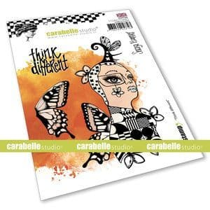 Carabelle Studio - Rubber Stamps - A6 -  Think Different by Soraya Hamming