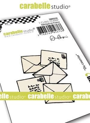 Carabelle Studio - Rubber Stamps - Small - Du courrier by Alexi