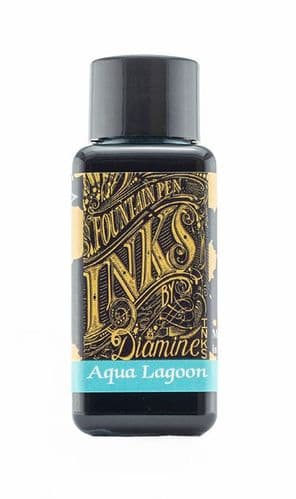 Diamine - Fountain Pen Ink - 30ml - Aqua Lagoon