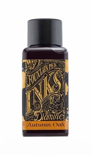 Diamine - Fountain Pen Ink - 30ml - Autumn Oak