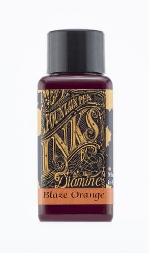 Diamine - Fountain Pen Ink - 30ml - Blaze Orange
