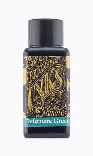 Diamine - Fountain Pen Ink - 30ml - Delamere green