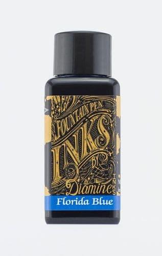 Diamine - Fountain Pen Ink - 30ml - Florida Blue