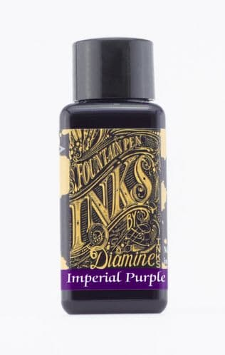 Diamine - Fountain Pen Ink - 30ml - Imperial Purple