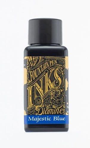 Diamine - Fountain Pen Ink - 30ml - Majestic Blue
