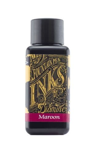 Diamine - Fountain Pen Ink - 30ml - Maroon