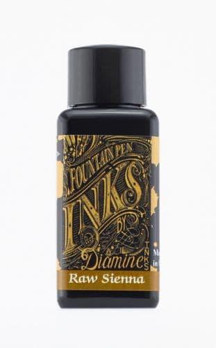 Diamine - Fountain Pen Ink - 30ml - Raw Sienna