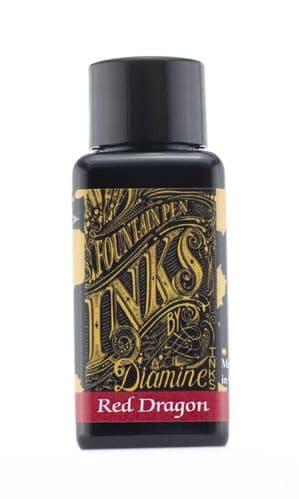 Diamine - Fountain Pen Ink - 30ml - Red Dragon