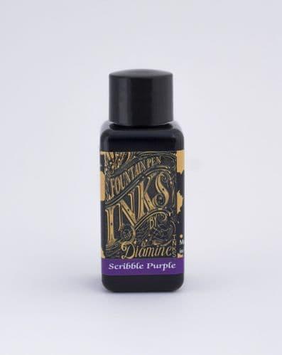 Diamine - Fountain Pen Ink - 30ml - Scribble Purple
