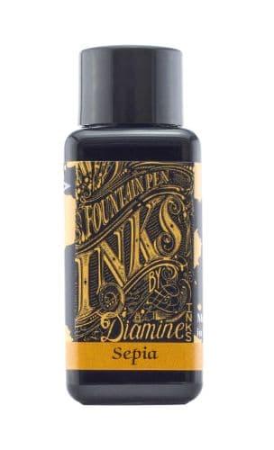 Diamine - Fountain Pen Ink - 30ml - Sepia