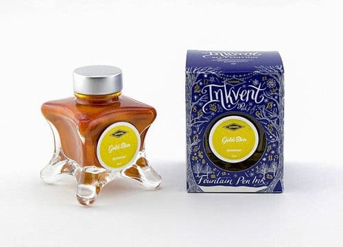 Diamine - Invent - Blue Collection - Gold Star Shimmer