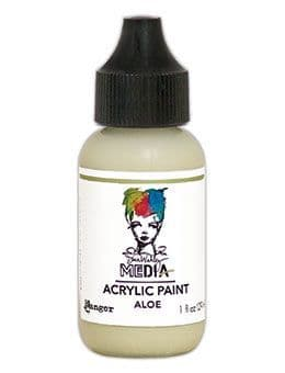 Dina Wakley Media - Acrylic Paints - 1oz Bottle - Aloe