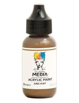 Dina Wakley Media - Acrylic Paints - 1oz Bottle - Ancient