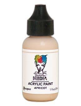 Dina Wakley Media - Acrylic Paints - 1oz Bottle - Apricot