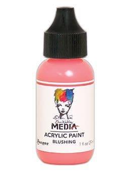 Dina Wakley Media - Acrylic Paints - 1oz Bottle - Blushing