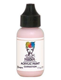 Dina Wakley Media - Acrylic Paints - 1oz Bottle - Carnation