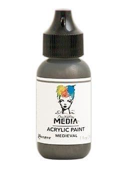 Dina Wakley Media - Acrylic Paints - 1oz Bottle - Medieval