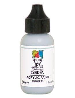Dina Wakley Media - Acrylic Paints - 1oz Bottle - Mineral