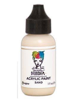 Dina Wakley Media - Acrylic Paints - 1oz Bottle - Sand