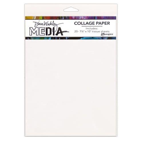 Dina Wakley Media - College Paper - Plain