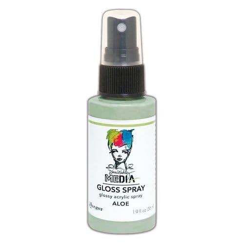 Dina Wakley - MEdia Gloss Spray - Aloe