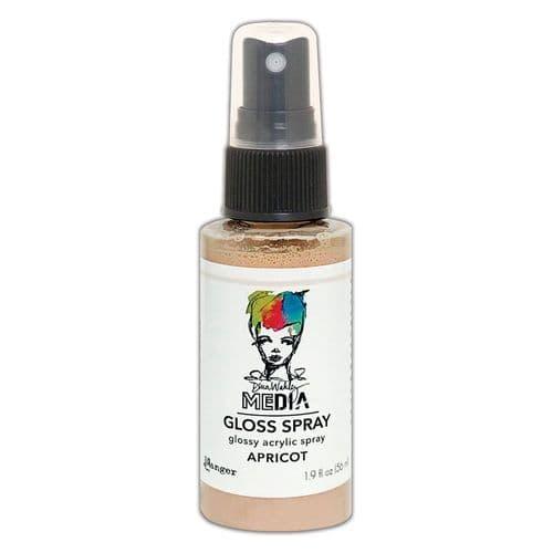 Dina Wakley - MEdia Gloss Spray - Apricot