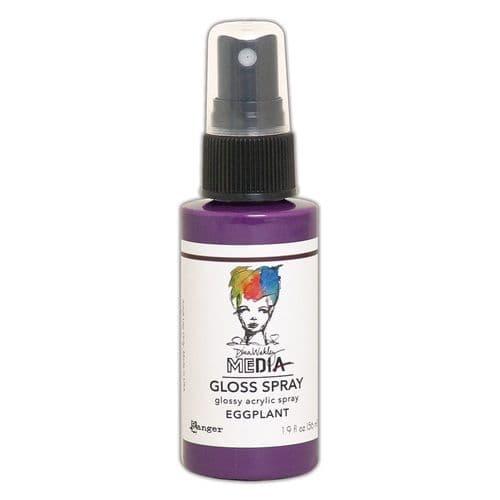 Dina Wakley - MEdia Gloss Spray - Eggplant