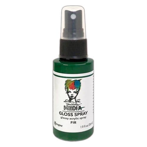 Dina Wakley - MEdia Gloss Spray - Fir