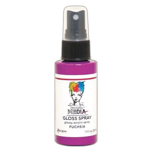 Dina Wakley - MEdia Gloss Spray - Fuchsia