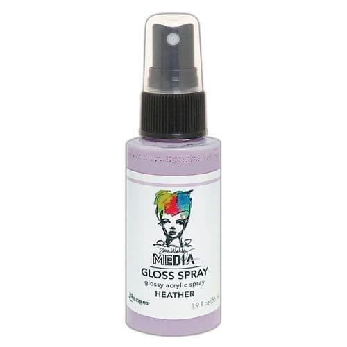 Dina Wakley - MEdia Gloss Spray - Heather
