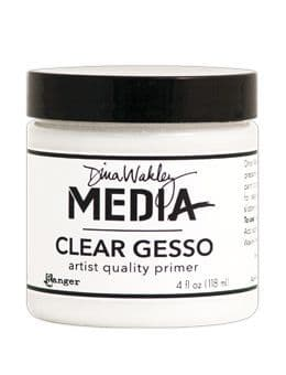 Dina Wakley Media - Mediums Gesso Clear