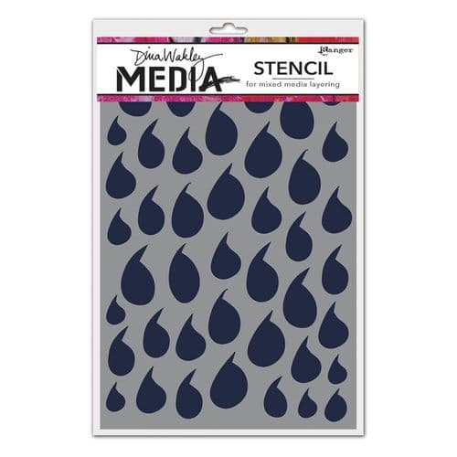 Dina Wakley Media - Stencil - Dollops