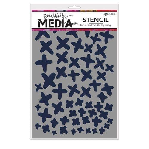 Dina Wakley Media - Stencil - XS