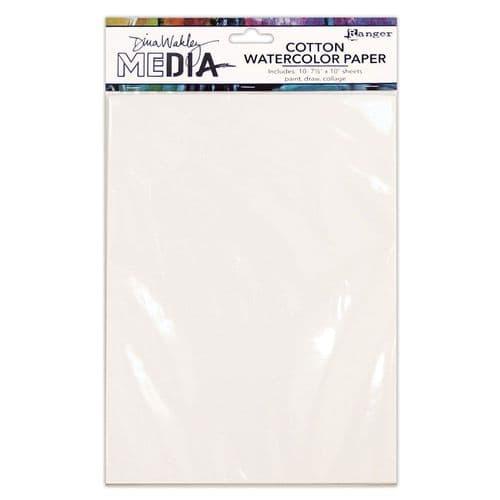 Dina Wakley Media - Surface Packs - Cotton Watercolour