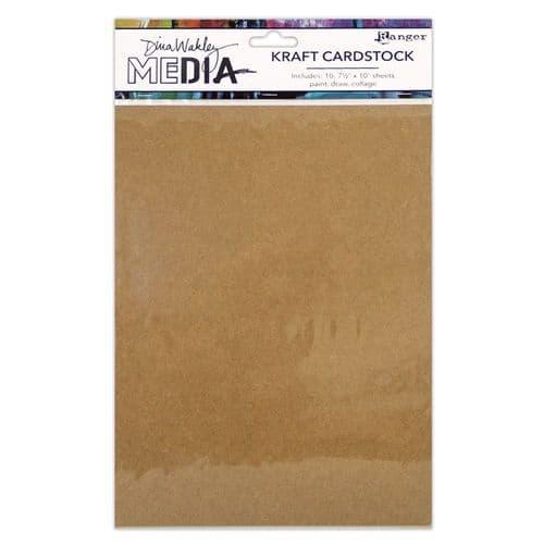 Dina Wakley - Surface Packs - Kraft paper Pack