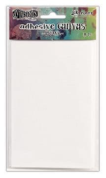 Dylusions - Adhesive Canvas Sheets - Blanks