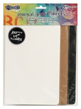 Dylusions - Journal Insert Sheets - Small Sheets