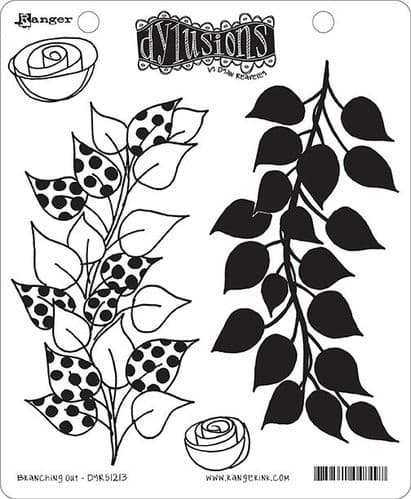 Dylusions - Rubber Stamps - Branching Out