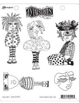 Dylusions - Rubber Stamps - Mini Moo