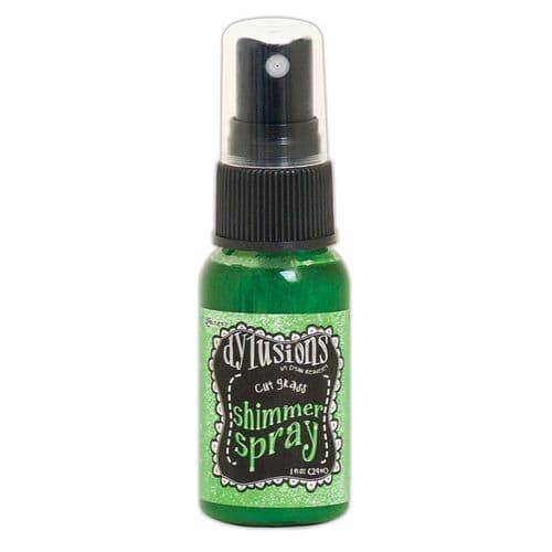 Dylusions - Shimmer Spray - Cut Grass