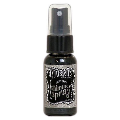 Dylusions - Shimmer Spray - Slate Grey