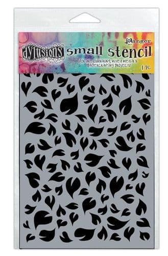 "Dylusions - Stencil - 5x8"" Leaves"