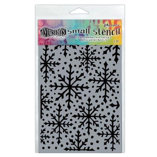 "Dylusions - Stencil - 5x8"" Snowflake"