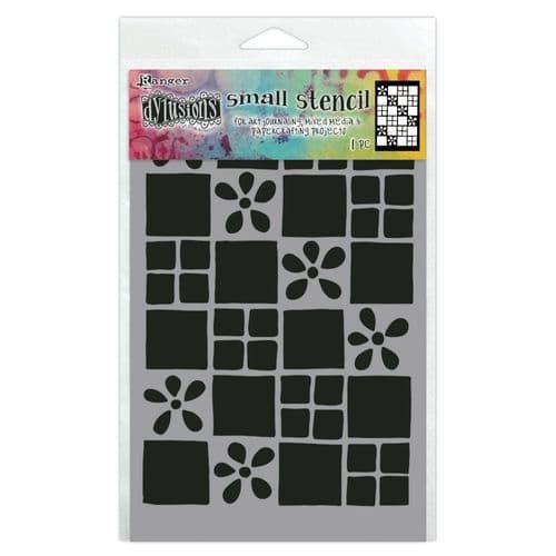 """Dylusions - Stencil - 5x8"""" - Square Dance"""