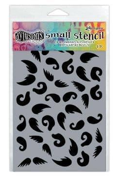 """Dylusions - Stencil - 5x8"""" Stash of Tache"""