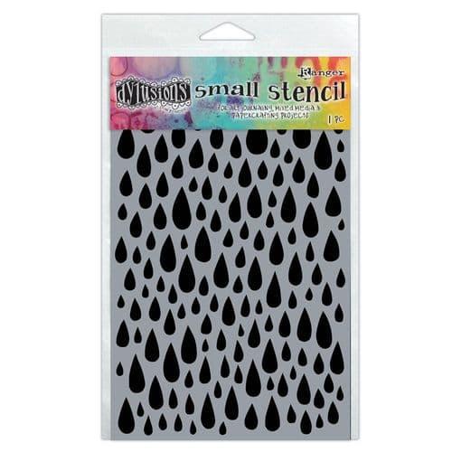 """Dylusions - Stencil - 5x8"""" Teardrops"""