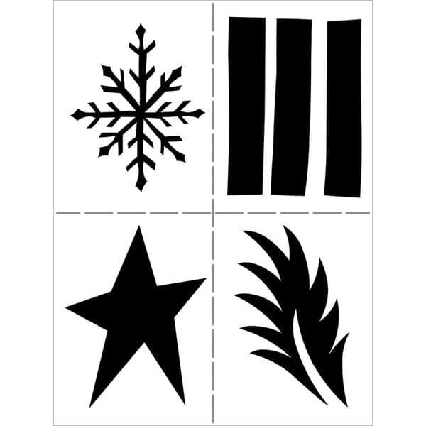 Dylusions - Stencil - 9x12