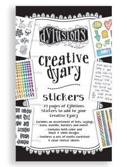 Dylusions - The Dyary Collection - Creative Dyary Sticker Book