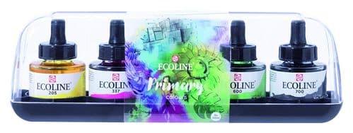 Ecoline - Acrylic Ink Set - Primary