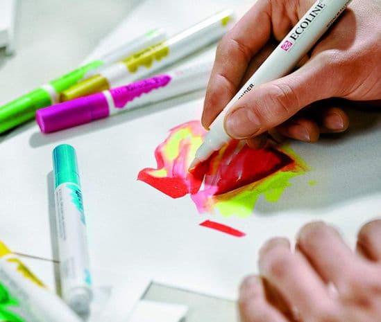 Ecoline - Watercolour Brush Pen Colours